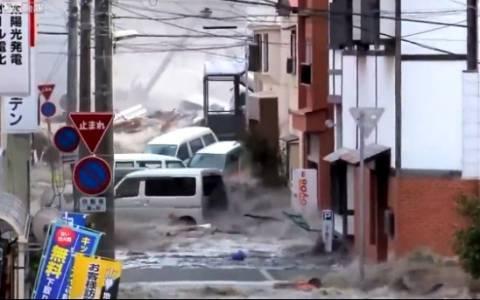 Ιαπωνία: Νέο συγκλονιστικό βίντεο από το τσουνάμι του 2011