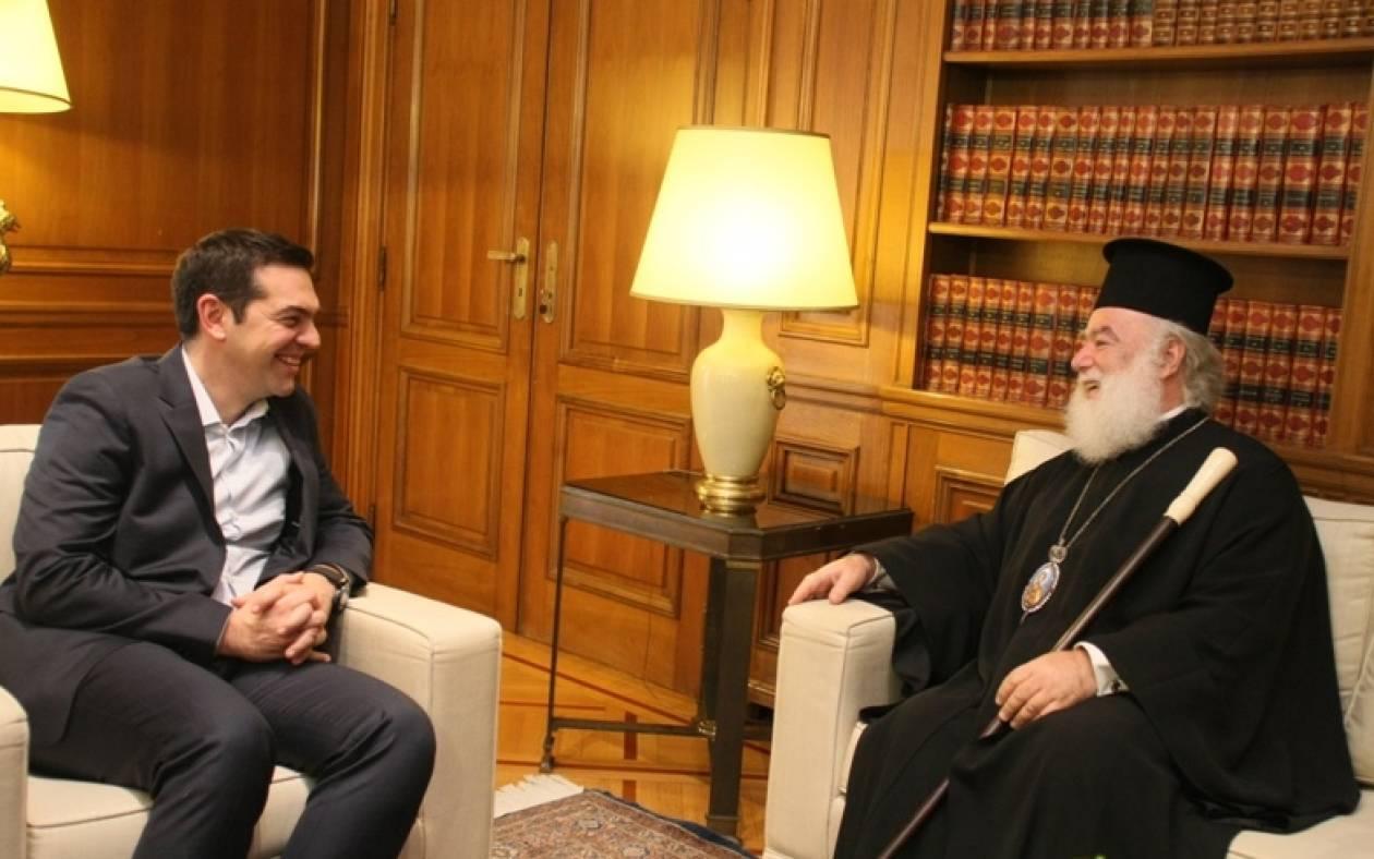 Πατριάρχης Αλεξανδρείας σε Τσίπρα: Ο Πούτιν σας θεωρεί χαρισματικό