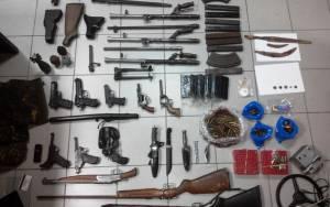 Σέρρες: Σύλληψη 51χρονου με όπλα, ναρκωτικά και αρχαία νομίσματα