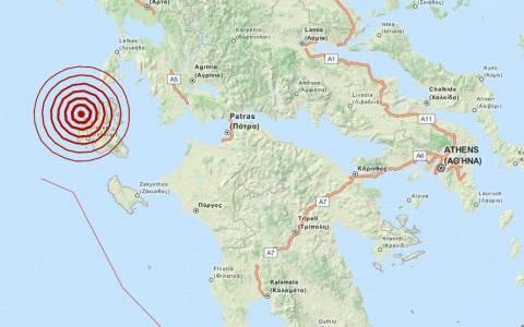 Σεισμός 3,8 Ρίχτερ στην Κεφαλονιά