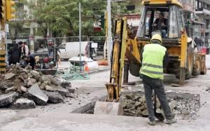 Πάτρα: Διακοπή κυκλοφορίας λόγω έργων