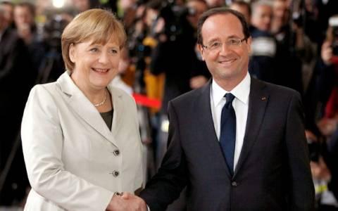Οι δηλώσεις Μέρκελ - Ολάντ για την Ελλάδα (video)