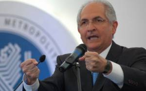 Υπό κράτηση ο δήμαρχος του Καράκας