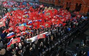 Ρωσία: Συγκέντρωση κατά της ουκρανικής εξέγερσης (video)