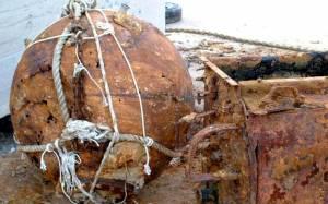 Βρέθηκε νάρκη στο λιμάνι της Πάτρας