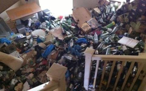 Ο εφιάλτης του σπιτονοικοκύρη: Δείτε πώς άφησε το σπίτι ο ενοικιαστής! (pics)