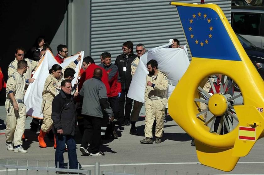 F1 Χειμερινές δοκιμές Βαρκελώνη: Σοβαρό ατύχημα για τον Alonso