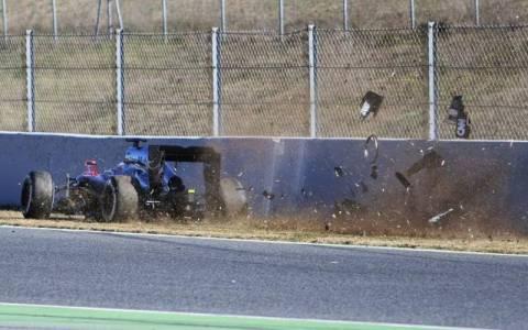 F1 Χειμερινές δοκιμές Βαρκελώνη: Σοβαρό ατύχημα για τον Alonso (Photos)