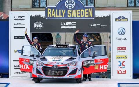 WRC: Η Hyundai Motorsport ξεκινά δυνατά τη χρονιά του 2015