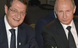 Κυπριακό και οικονομία τα θέματα σύσκεψης  Αναστασιάδη-Πούτιν