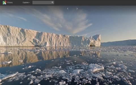 Το Google Street View στη Γροιλανδία