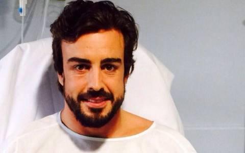 F1: Μένει στο νοσοκομείο ο Alonso (photos&video)