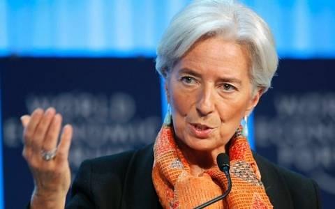 Λαγκάρντ: Δεν τίθεται ζήτημα αποχώρησης της Ελλάδας από το ευρώ