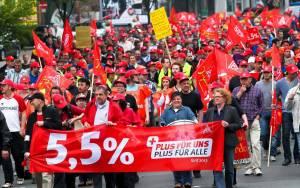 Γερμανία: Συμφωνία με το συνδικάτο IG Metall για αυξήσεις