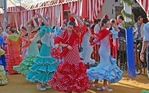 La Feria de Abril στη Σεβίλλη τον Απρίλιο (video+photos)