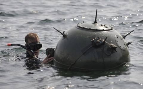 Κρήτη: Ανασύρεται η νάρκη από το Β' παγκόσμιο πόλεμο