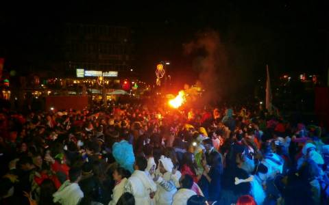Ξάνθη: Γέμισαν οι δρόμοι με μεθυσμένους… Καρναβαλιστές