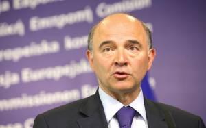 Μοσκοβισί: Να βοηθήσουμε την Ελλάδα να αναπτυχθεί στην Ευρωζώνη