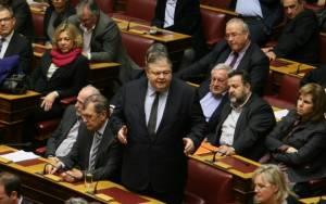 Βουλή: Νέο επεισόδιο Κωνσταντοπούλου – Βενιζέλου με... καρφιά για το Mνημόνιο (video)