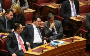 Καταψηφίστηκε η πρόταση άρσης ασυλίας του Γεωργιάδη