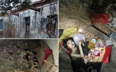 Το σπίτι της φρίκης: Την είχαν κλειδωμένη για 6 χρόνια οι γονείς της (photos)