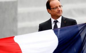 Τα συγχαρητήρια Ολάντ κομίζει στο Προεδρικό ο Ντεζίρ