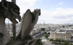 Παρίσι: Η θέα από τη Νοτρ Νταμ (photos)