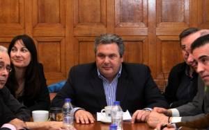 Καμμένος: Θα συσταθεί Εξεταστική Επιτροπή για το μνημόνιο