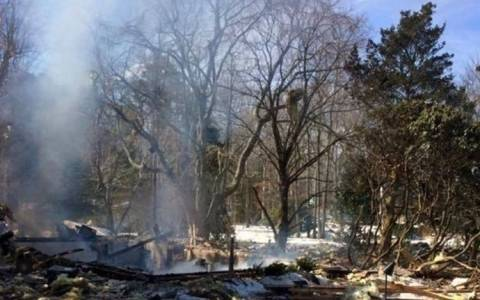 ΗΠΑ: Έκρηξη από διαρροή γκαζιού τίναξε σπίτι στον… αέρα! (video)