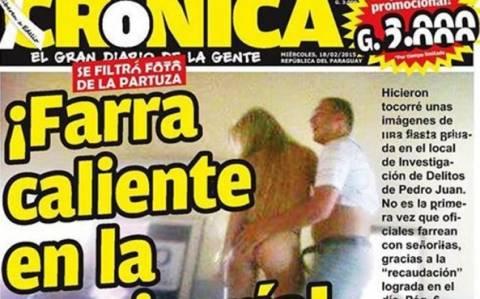 Παραγουάη: Όργια με εκδιδόμενες σε αστυνομικό τμήμα! (photo)
