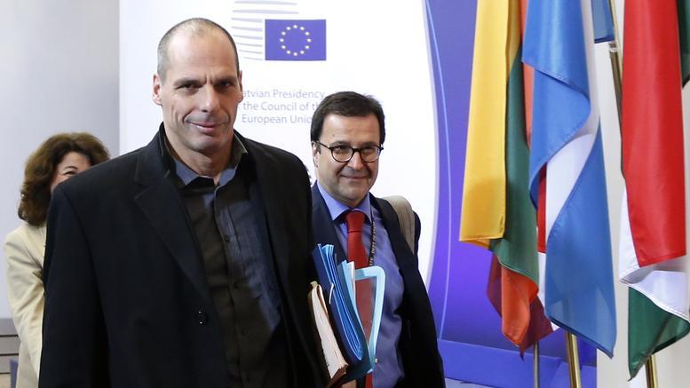 dow joneso baroufakis mpike sto eurogroup me kamera.w l