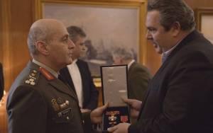 Καμμένος: Συνάντηση  με τη νέα ηγεσία των Ενόπλων Δυνάμεων (pics)