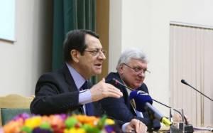 Αναστασιάδης: Η Ρωσία θα μας βοηθήσει στο Κυπριακό