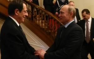 Πούτιν-Αναστασιάδης: Μία συνάντηση που προβλημάτισε...την Αμερική