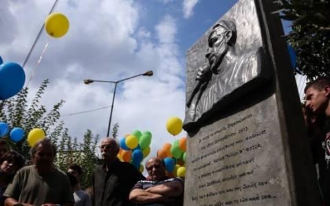 Άγνωστοι προκάλεσαν ζημιές στο μνημείο του Παύλου Φύσσα (photo&video)