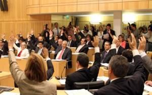 Αναστολή των εκποιήσεων μέχρι τις 19 Μαρτίου ψήφισε η Βουλή