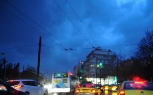 Σοβαρές ζημιές στη Μάνδρα από τις καταιγίδες