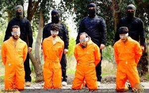 Νέα φρίκη του Ισλαμικού Κράτους: Έσφαξαν 4 αιχμαλώτους (photos)