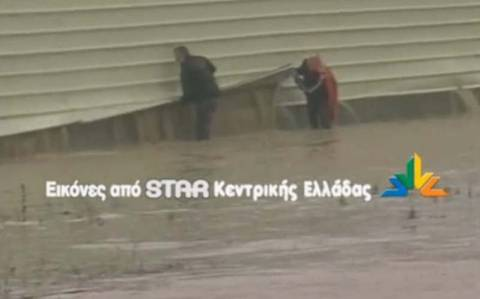 Θήβα: Πλημμύρισε αρδευτικό κανάλι
