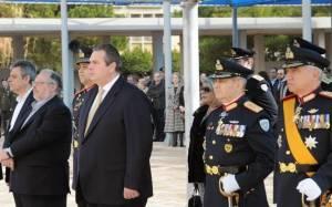 Ο ΥΕΘΑ στις τελετές παράδοσης - παραλαβής  Αρχηγών ΓΕΣ και ΓΕΑ (pics)