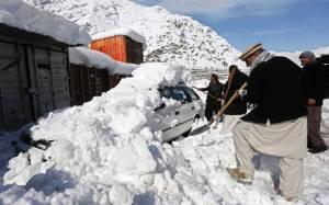 Αφγανιστάν: Πάνω από 260 οι νεκροί από τις χιονοστιβάδες