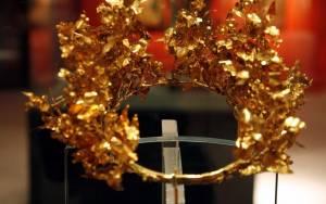 Κοζάνη: Χρυσά μακεδονικά στεφάνια στο αρχαιολογικό μουσείο