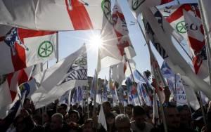 Ιταλία: Ειρηνικές οι διαδηλώσεις Αριστεράς και Λέγκας του Βορρά