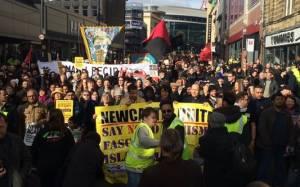 Βρετανία: Ογκώδης η διαδήλωση κατά της Pegida
