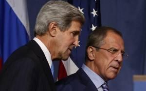 Κρίσιμες συνομιλίες στη Γενεύη μεταξύ Τζον Κέρι και Σεργκέι Λαβρόφ