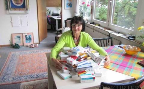 Μια Γερμανίδα βοηθάει φτωχούς στην Αθήνα