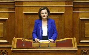 Χρυσοβελώνη: Ο Σόιμπλε δεν πρέπει να αντιμετωπίζει την Ελλάδα σαν αποικία χρέους