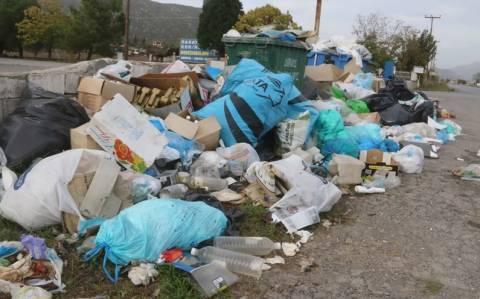 Τρίπολη: Η περιφέρεια Πελοποννήσου ανέλαβε ν' απομακρύνει τα σκουπίδια