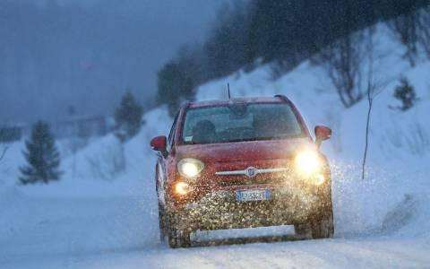 Fiat: Το 500Χ στους πάγους (photos & video)