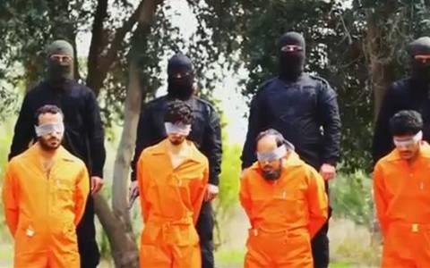 Ιράκ: Το σοκαριστικό video της εκτέλεσης των κατοίκων του Τικρίτ από το ΙΚ